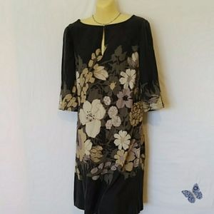 Tory Burch Dress Silk Tunic Kimono Style EUC  6